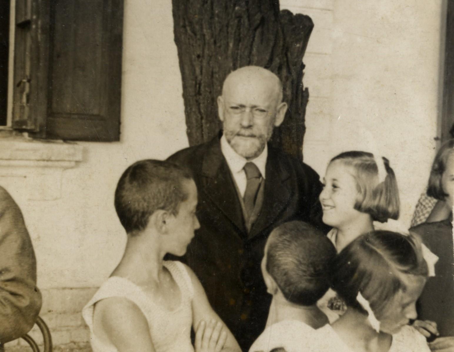 Janusz Korczak – fot. Muzeum Żydów Polskich Polin