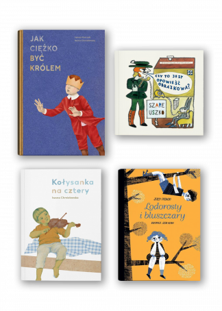 Pakiet dzieci (Ficowski, Piotrowski, Chmielewska, Korczak)