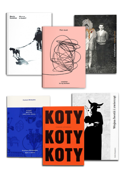 Pakiet poezja - pakiet książek poetyckich